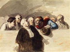Defense Attorney - Honore Daumier