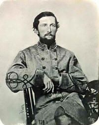 Colonel John Singleton Mosby in 1863. He was a Captain at the time photo was taken.