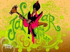 Jafar on Guitar Disney Villains, Disney Pixar, Disney Characters, Fictional Characters, Rotten To The Core, Jafar, Princesas Disney, Music Bands, Movies And Tv Shows
