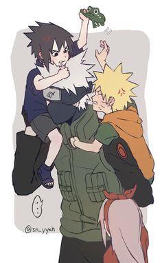 Team 7 • Naruto Uzumaki • Sasuke Uchiha • Sakura Haruno • Kakashi Hatake