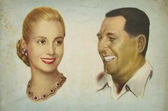 EVITA and JUAN DOMINGO PERON; Evita met Colonel Juan Perón on January 22, 1944 at the Luna Park stadium in Buenos Aires. By then Perón was a rising political and military power in Argentina. In June of 1943 he had been one of the military leaders in charge of overthrowing the civilian government: he was rewarded with being placed in charge of the Ministry of Labor, where he improved rights for agricultural workers.