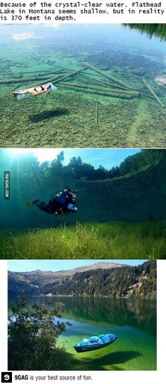 Montana Lake. If its for real I'd even swim in it!