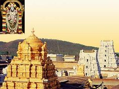 Balaji Temple,  Thirupathi in Chitthur district of Andhra Pradesh