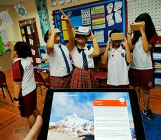 Yesterday my class climbed Everest... from the comfort of the classroom!  Google Expeditions is a truly incredible learning technology tool 🌍🌎🌏  https://edtech4beginners.com/2016/09/29/try-out-google-expeditions-wow/