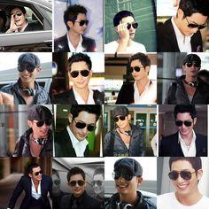 Park Shi Hoo likes eyeglasses and I ♥ how he looks with them