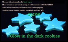 glow in the dark cookies