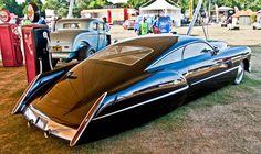 1948 Custom Cadillac Sedan.