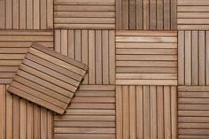 Wood flooring transforms a balcony, deck, or concrete pad into an inviting outdoor patio. Here are our 10 favorite ipe, acacia, and teak floor tiles: