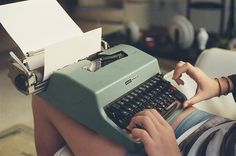 I want a typewriter!