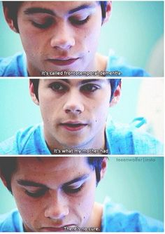 Dylan you deserve awards for this episode!!! 3b Teen wolf riddled