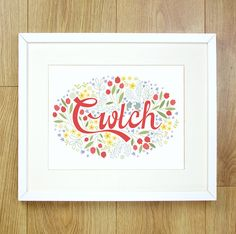 The Welsh word Cwtch (Or Cwtsh depending on where youre from!) is a wonderful Welshy word meaning Hug. If you use the word Cwtch/Cwtsh, the word