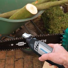 How To Sharpen A Chainsaw (The Right Way) - PickBestChainsaw Saw Sharpening, Sharpening Stone, Chainsaw Accessories, Lawn Mower Blades, Electric Chainsaw, Dremel Rotary Tool, Wooden Spoons, Outdoor Gardens, Garden Tools