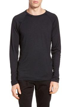 Theory Dustyn L Anemone Raglan Sleeve T-shirt In Black Multi Medium Long, Theory, Sportswear, Pullover, Mens Fashion, Sweatshirts, Long Sleeve, Nordstrom Rack, Sleeves