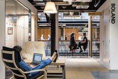 Airbnb Office by Heneghan Peng Architects, Dublin – Ireland » Retail Design Blog