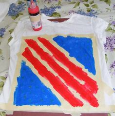 Ten kids and a Dog: 4th of July t-shirts 2008