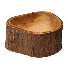 MANGO WOOD BOWL WITH BARK | acacia tree, home | UncommonGoods