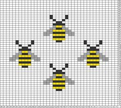 Best Cost-Free Cross Stitch bee Suggestions Because I have already been corner . - Best Cost-Free Cross Stitch bee Suggestions Because I have already been corner appears due to the - Tiny Cross Stitch, Simple Cross Stitch, Cross Stitch Animals, Cross Stitch Designs, Easy Cross Stitch Patterns, Hand Embroidery Patterns Free, Simple Embroidery, Cross Stitching, Cross Stitch Embroidery