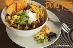 Doritos Taco Salad Recipe - quick and easy dinner meal for families | KristenDuke.com