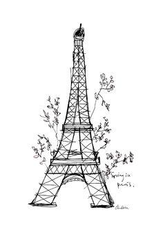 Elina Dahl, spring in paris. shop.elinadahl.com