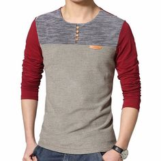 a25d538f9b Camiseta Manga Longa Theodore Gola Redonda