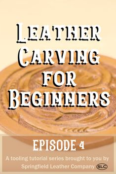 Join Denny for part 4 in our Beginners Leather Carving series! Denny adds finishing touches to the rounders he started working on in Episode accessories pattern Leather Carving for Beginners - Episode 4 Leather Carving, Leather Tooling, Tooled Leather, Sewing Leather, Leather Pattern, Leather Accessories, Leather Jewelry, Diy Leather Projects, Leather Working Patterns