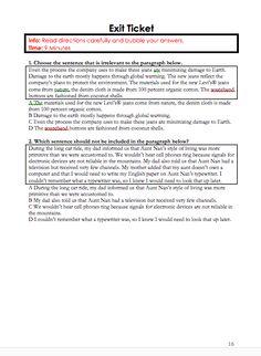 tcap writing assessment tips for teachers