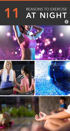 The Surprising Benefits of Exercising at Night #exercise #fitness #workout