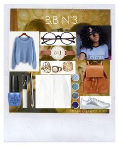 """B.B N°3"" by marlinda212 on Polyvore featuring mode, Polaroid, Dolce&Gabbana, OPI, NARS Cosmetics, Terre Mère, Marc Jacobs, Barneys New York et adidas"