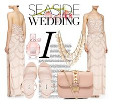 """The Perfect Seaside Wedding"" by asteroid467 ❤ liked on Polyvore featuring Aidan Mattox, Miu Miu, Valentino, Charlotte Russe, Viktor & Rolf and seasidewedding"