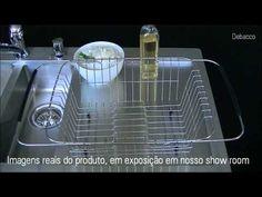 CESTO ESCORREDOR INOX ARAMADO MULTIUSO UNIVERSAL - Açonox