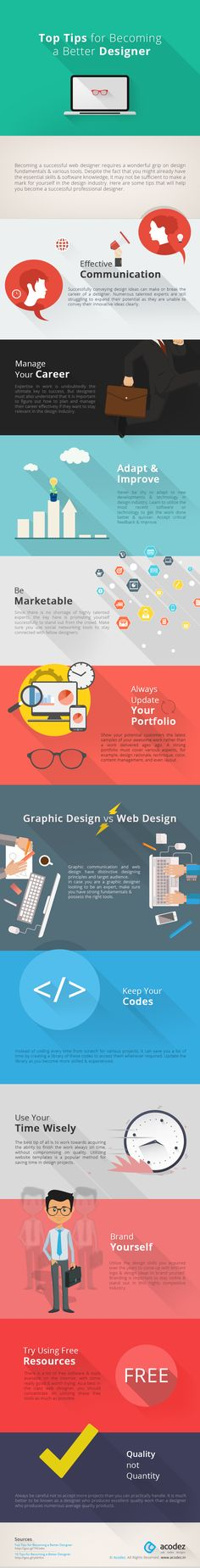 Want to know how to become a better web designer? Read on to find out how to establish your career as a great web designer!