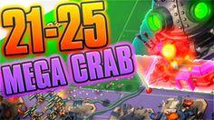 "Boom Beach Mega Crab 2.0 Levels 21-25 ""IM BACK"""