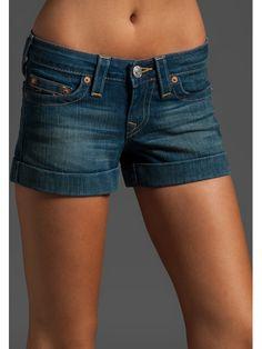 True Religion Allie Cuffed Shorts - NewChicBoutique.com