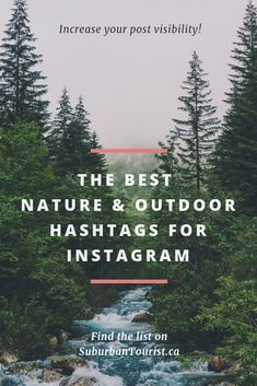 The best nature and outdoor hashtags for Instagram to boost your post's visibility. #instagramtips #instagram #socialmediatips #socialmedia #hashtags #outdoors #nature #naturephotography #naturelovers Photography Captions, Nature Photography Quotes, Photography Hashtags, Nature Quotes, Landscape Photography, Life Quotes, Waterfall Quotes, Nature Captions For Instagram, Trekking
