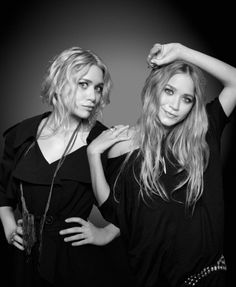 I still think the Olsen twins are gorgeous