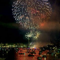Seattle, Washington   Get ready to party! Seattle has a reason to celebrate this year: The fireworks are put on by a nonprofit group, One Reel, which almost lacked enough in donations for this year. Expect a lot of happy people along the waterfront and in area restaurants and parks.