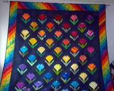 Zygocactus by squarequilter (Keep Smiling), via Flickr    Pattern on my mind :)