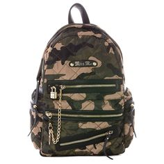 Miss Me Camo Backpack