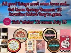 Visit my website at perfectlyposh.com/danielledelia to grab these products before they're gone!