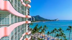 Stay at the luxurious The Royal Hawaiian, a Luxury Collection Resort, Waikiki in Honolulu, United States, and work with a Virtuoso travel Advisor to receive your free upgrades and amenities. Hawaii Honeymoon, Hawaii Vacation, Oahu Hawaii, Hawaii Travel, Vacation Spots, Travel Trip, Hawaii Tourism, Hawaii Beach, Dream Vacations