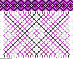 Muster # 62690, Streicher: 28 Zeilen: 18 Farben: 7