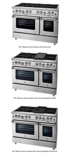 Bluestar Cooking | 48-inch Platinum Stack a girl can dream...