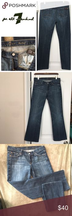 3f21d0254d651 7 For All Mankind Bootcut jeans size 26  hemmed  Women s 7 For All Mankind