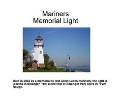 River Rouge Mariners Memorial Light