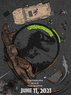 Jurassic world T Rex Jurassic Park, Jurassic Park Poster, Jurassic World 3, Lego Jurassic, Jurassic World Fallen Kingdom, Michael Crichton, Indominus Rex, Tyrannosaurus Rex, Dinosaure Herbivore