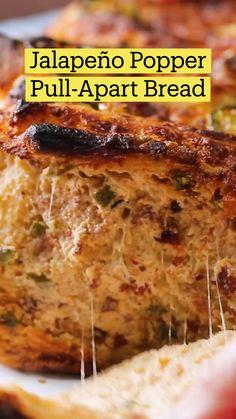 Fun Baking Recipes, Good Healthy Recipes, Cooking Recipes, Good Food, Yummy Food, Appetizer Recipes, Appetizers, Food Videos, Food To Make