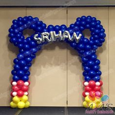 Mickey Mouse Balloon Arch #partywithballoons