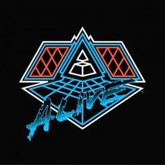 Daft Punk Alive 2007 2LP Vinil 180 Gramas Capa Gatefold Tripla Parlophone 2014 EU - Vinyl Gourmet