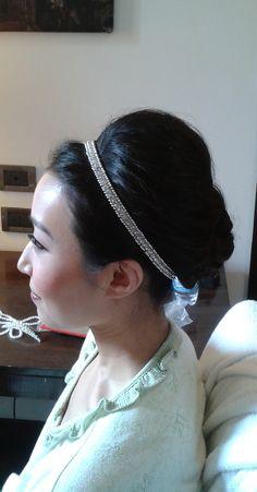 beehive updo by Rome hairdresser Janita http://janitahelova.wix.com/janita-helova