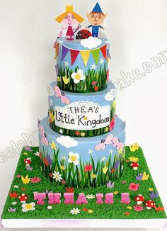Celebrate with Cake!: Little Kingdom 3 tier